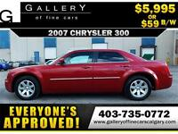 2007 Chrysler 300 V6 $59 bi-weekly APPLY TODAY DRIVE TODAY