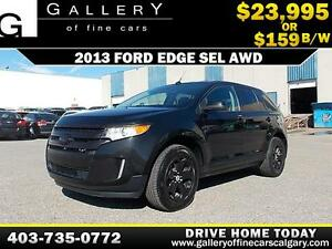 2013 Ford Edge SEL AWD $159 bi-weekly APPLY NOW DRIVE NOW
