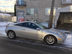 2003 toyota CELICA- automatic- 124 000km*** IMPECABLE- ** 3900$