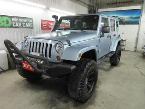 2012 Jeep Wrangler Unlimited Arctic w/ Lots of Upgrades!!