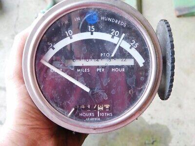 John Deere 20 Series Tractor Tachometer Tag 173