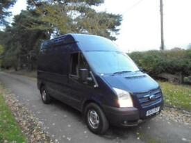 Ford Transit 2.2TDCi ( 125PS EU5 ) 350M High Roof Van 350 MWB Trend 62 REG 127K