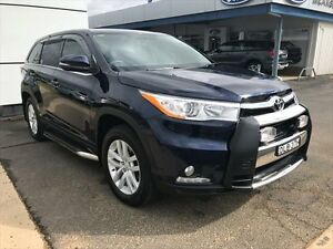 2015 Toyota Kluger GSU55R GX (4x4) Blue 6 Speed Automatic Wagon Young Young Area Preview