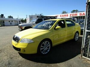 2007 Skoda Octavia RS Yellow 6 Speed Manual Hatchback Moorooka Brisbane South West Preview