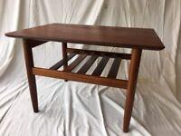 Vintage Retro Mid Century Teak G Plan Coffee Side Table Danish Style