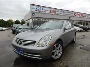 2004 Infiniti G35 X AWD  Luxury SUNROOF NO ACCIDENTS ONTARIO CAR