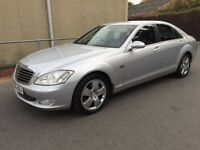 2006 MERCEDES S CLASS S320 CDI 1 PREVIOUS OWNER, 127K MILES FULL HISTORY BARGAIN! nt s350, e220