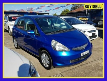 2007 Honda Jazz GD VTi Blue Constant Variable Hatchback