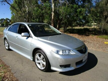 2004 Mazda 6 Silver Sports Automatic Hatchback Mile End South West Torrens Area Preview