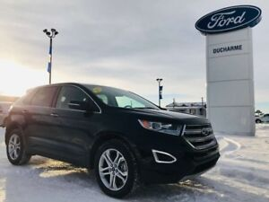 2018 Ford Edge Titanium, AWD, $244 Bi-Weekly! Leather, 31,272km!