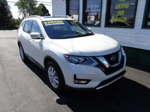 2018 Nissan Rogue SV AWD for only $225 bi-weekly all in!