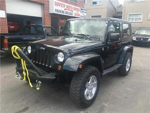 2009 Jeep Wrangler X off road tires