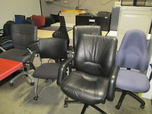 OFFICE CHAIRS LARGE INVENTORY-NEW AND USED Peterborough Peterborough Area image 4