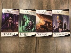 The Legend of Drizzt by R.A. Salvatore Books 1-4