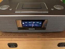 Philips DC290B/37 Radio Alarm Clock iPod iPhone Speaker Docking Station (30-pin)