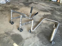 Sport bike stands (front and back)