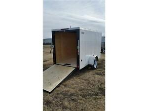 5X10 ENCLOSED BY ROYAL **OUT THE DOOR PRICES** $2950.00 **RAMP**