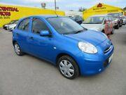 2011 Nissan Micra ST-L Blue 4 Speed Automatic Hatchback Morphett Vale Morphett Vale Area Preview