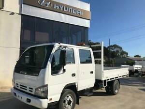 2007 Isuzu NPR 400 Crew Cab Steel Tray Top Pooraka Salisbury Area Preview