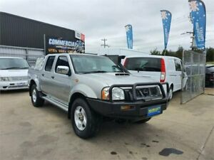 2008 Nissan Navara D22 MY08 ST-R (4x4) Silver 5 Speed Manual Dual Cab Pick-up Lilydale Yarra Ranges Preview