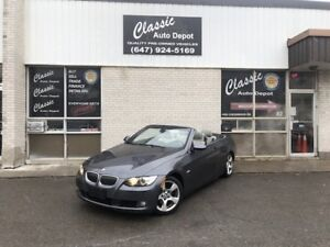 2007 BMW 328i CONVERTIBLE *NAVIGATION*ONLY 121,000KM*NO ACCIDENT