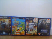 x4 ps2 sony playstation 2 games bundle £2 oneor all 4 for £10