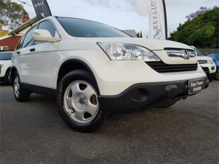 2008 Honda CR-V MY07 (4x4) White 6 Speed Manual Wagon Mount Hawthorn Vincent Area Preview