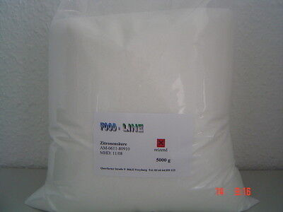 Zitronensäure - 10 kg, BIO-Entkalker - TOP PREIS