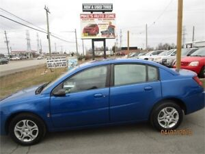 2003 Saturn Ion 4dr Sdn Ion 2 Midlevel Auto