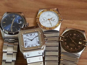 ROLEX, CARTIER AND TOW OMEGA 4900$ POUR TOUT.....FOR ALL.