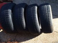 Uniroyal Snow tires NOT on rims, great shape