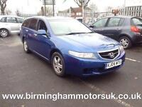 2004 Honda Accord 2.0 I-VTEC SE AUTO 5DR Estate BLUE