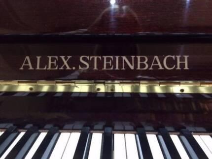 Piano Alex Steinbach upright Dapto Wollongong Area Preview