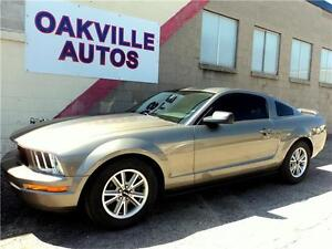 2005 Ford Mustang V6 MANUAL LEATHER CUSTOM EXHAUST&LIGHTS SAFETY