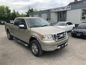 2007 Ford F-150 XLT SUPERCREW 4X4  No Accident!!!