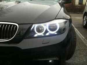 BMW Angel Eyes LED white E90 E91 E60 E61 3 5 7 series X5