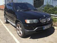 2002 BMW X5 4.4 V8 SPORT AUTOMATIC PETROL 4X4 4WD POWERFUL MOT SPACIOUS JEEP BLACK N ML 7 SERIES