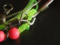 30 mixed 1 hook sea fishing rigs