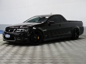 2011 Holden Commodore VE II MY12 SS Black 6 Speed Manual Utility East Rockingham Rockingham Area Preview