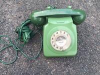ORIGINAL 1960'S/70'S RETRO DIAL PHONE