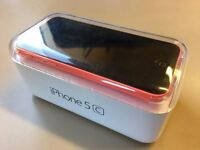 APPLE IPHONE 5C, EE, 16GB, PINK BACKING, BOXED, VGC