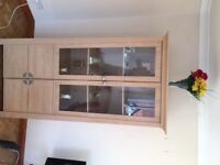 free IIKEA Glass Display Cabinet as seen in these pictures
