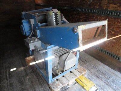 Pallman Used Psp 400-500 Pulverizer 6 X 16.5 60hp 460v Yr. 1991 Zag 8346