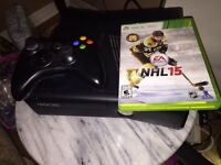 Mint Xbox 360 with Controller & NHL '15