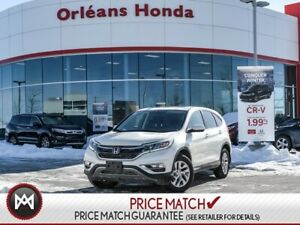 2015 Honda CR-V EX- sunroof, nice alloys heated seats!
