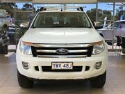 2013 Ford Ranger PX XLT Double Cab White 6 Speed Sports Automatic Utility Belconnen Belconnen Area Preview