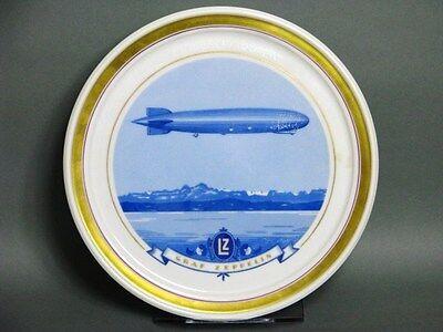 """Heinrich Wand Teller """"Graf Zeppelin LZ 127"""" um 1928"""