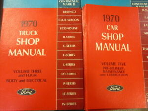 NEW FORD CAR AND TRUCK REPAIR BOOKS. Mustang $10.00