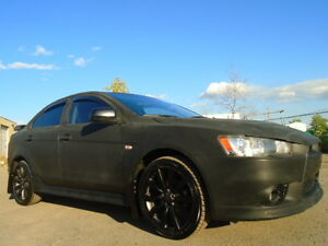 2009 MITSUBISHI LANCER RALLIART-TURBO--AWD-CUSTOM---DVD-HDTV
