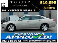 2011 Chevrolet Impala LT $99 bi-weekly APPLY NOW DRIVE NOW